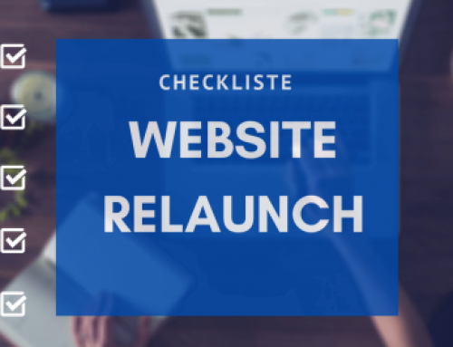 Website Relaunch Checkliste: Step-by-Step zur neuen Website
