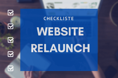 Checkliste Website Relaunch