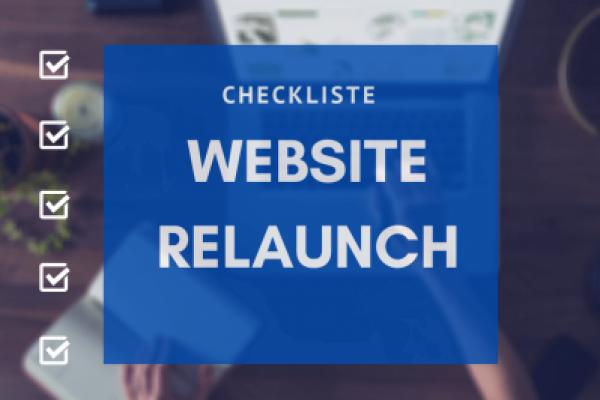 Checkliste Website Relaunch