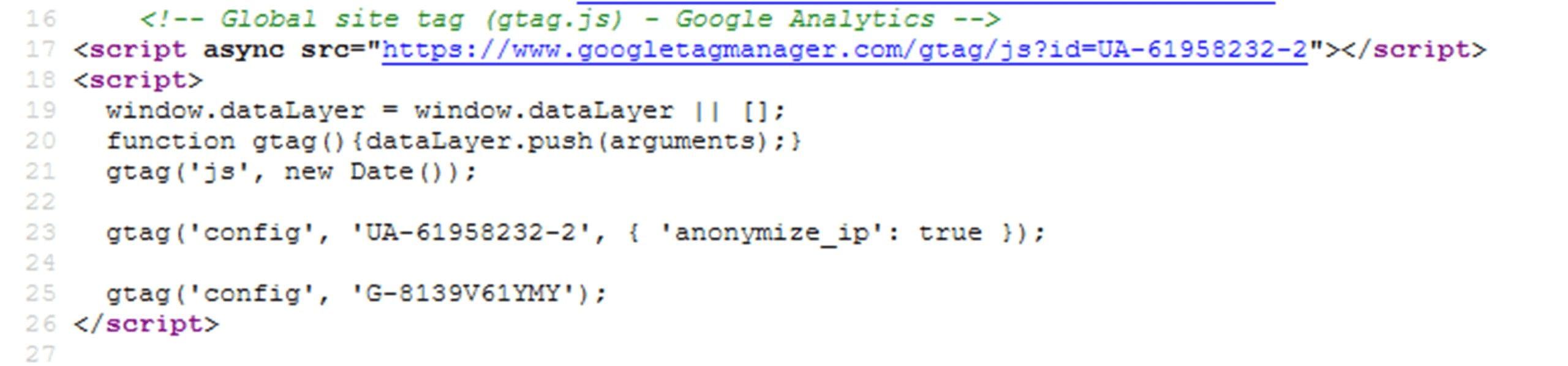 Code-Snippet Analytics 4