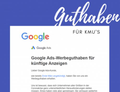 Corona-Krise: Google Gutschriften für Werbetreibende