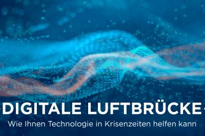 Digitale Luftbrücke Bild