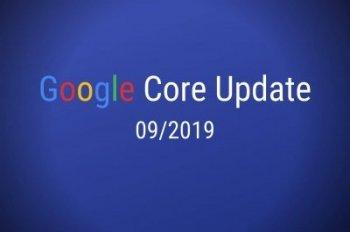 Google Core Update September 2019