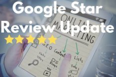 Grafik Google Rich Snippets Sterne Review Update