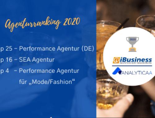 iBusiness Ranking:  AnalyticaA Top-Agentur in Performance Marketing und SEA