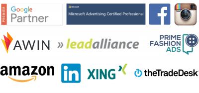 Logos der Partner von AnalyticaA Mobil