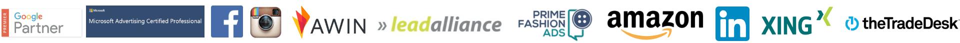 Logos der Partner von AnalyticaA