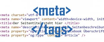 SEO Meta Tags im Quellcode