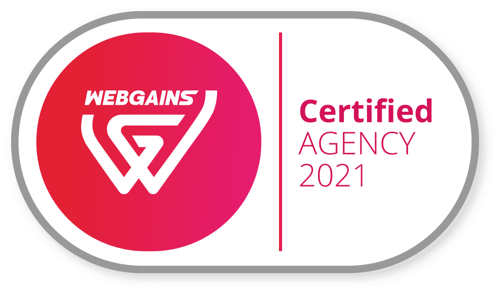 Webgains_Certified-Agency-2021 | AnalyticaA