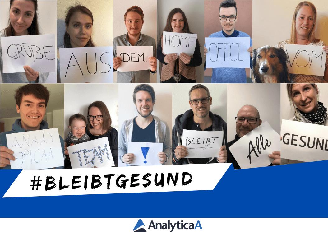 bleibgesund AnalyticaA Team Foto