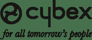 Cybex Logo mit Claim