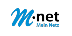 M-net transparent Logo